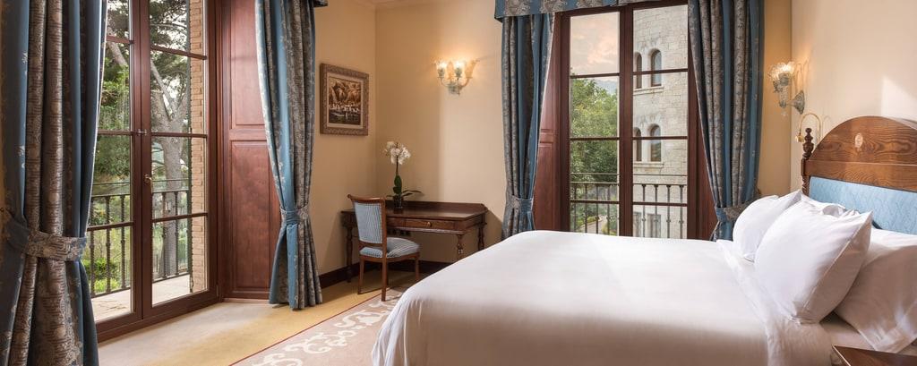 Dormitorio de la suite Classic