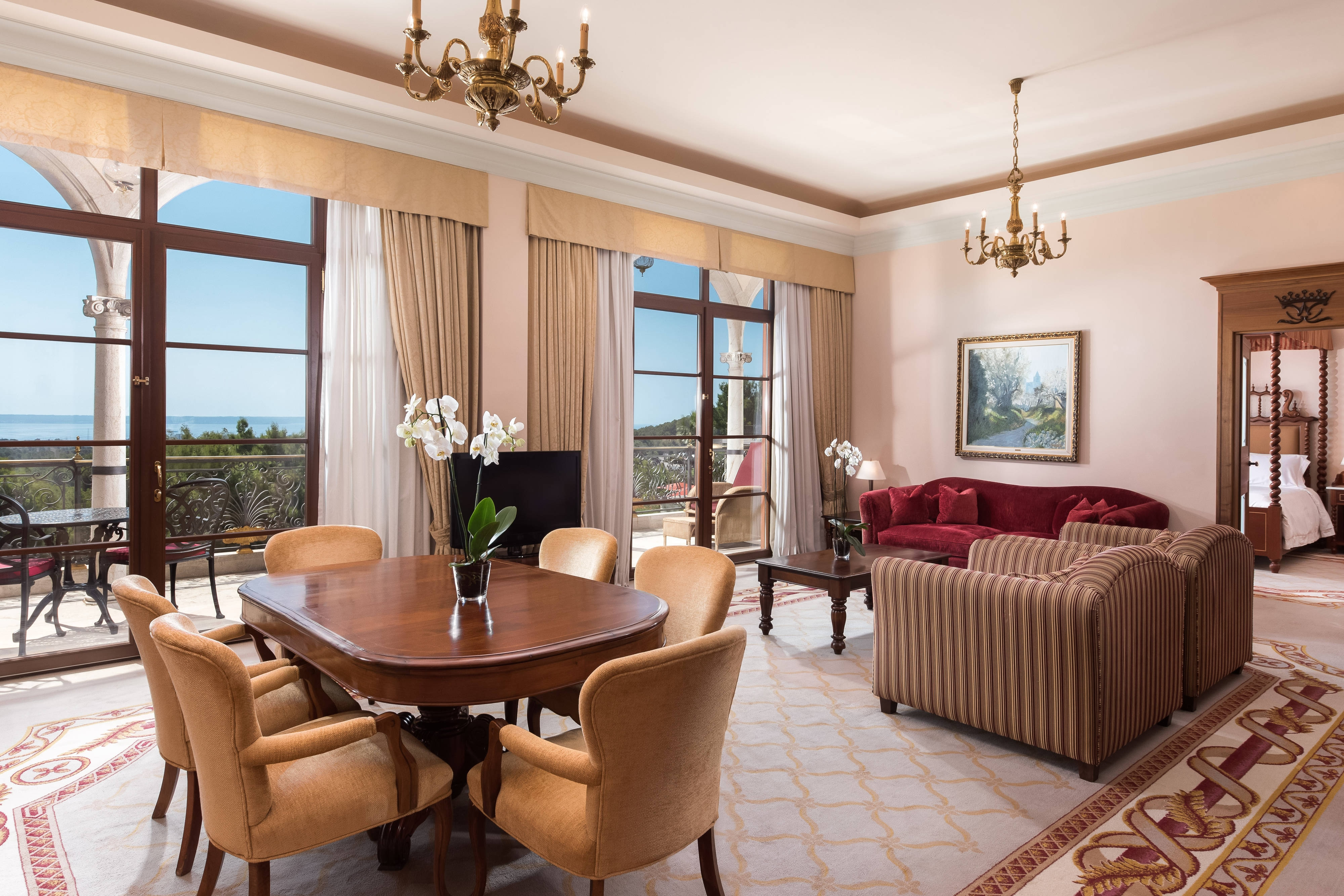 Suite royale, salon
