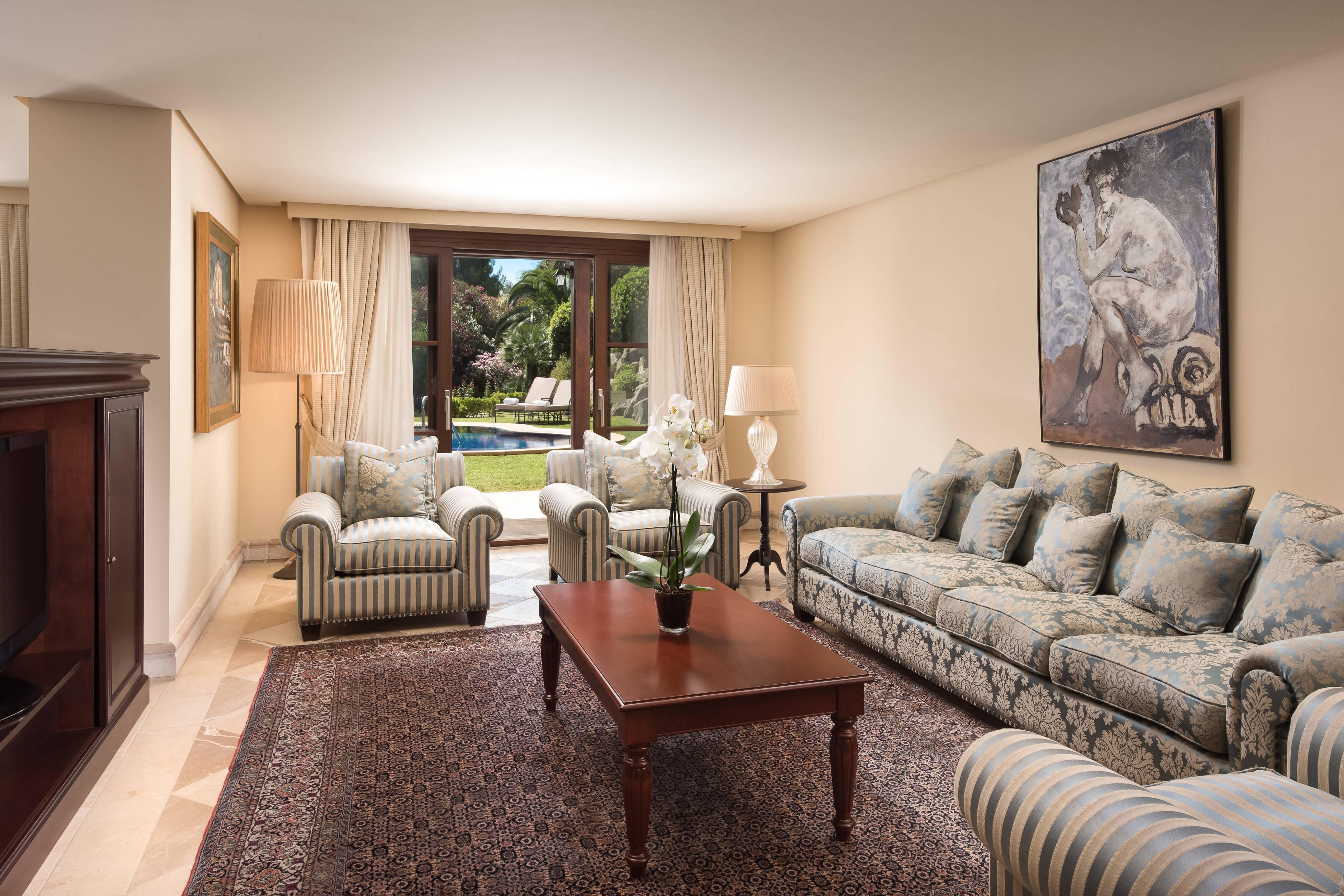 Villa Suite - Living Room