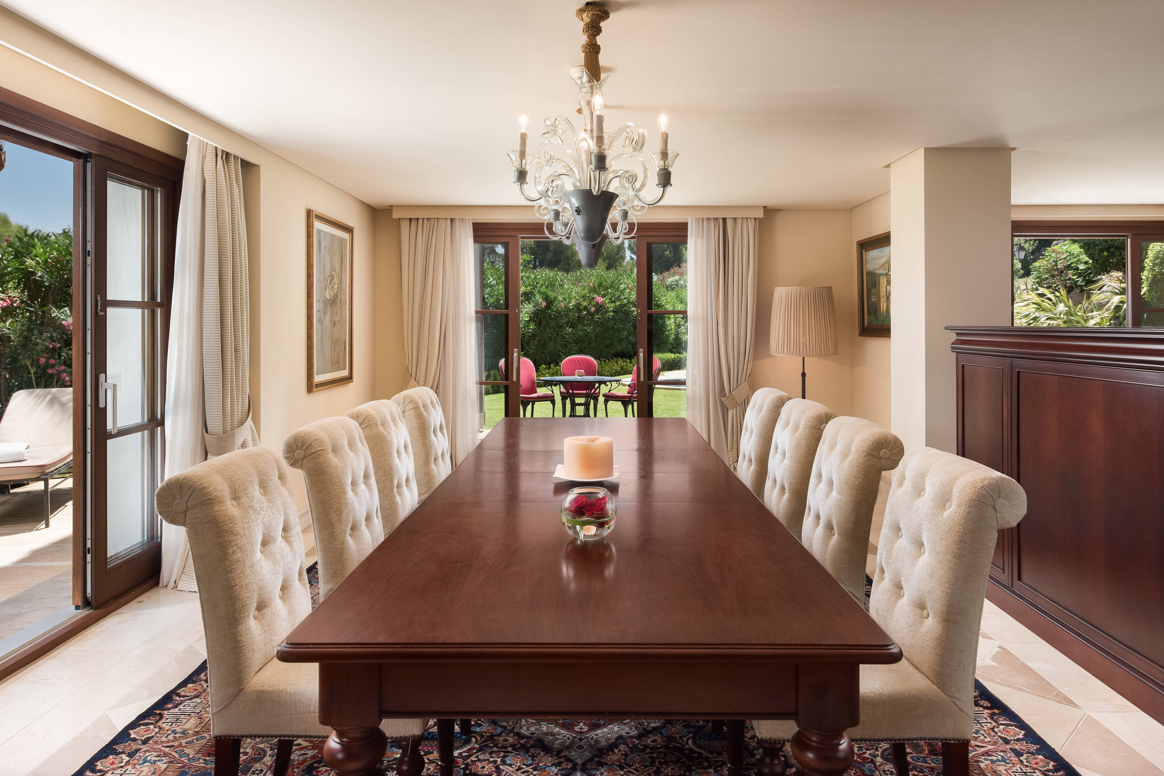 Villa Suite - Dining Room