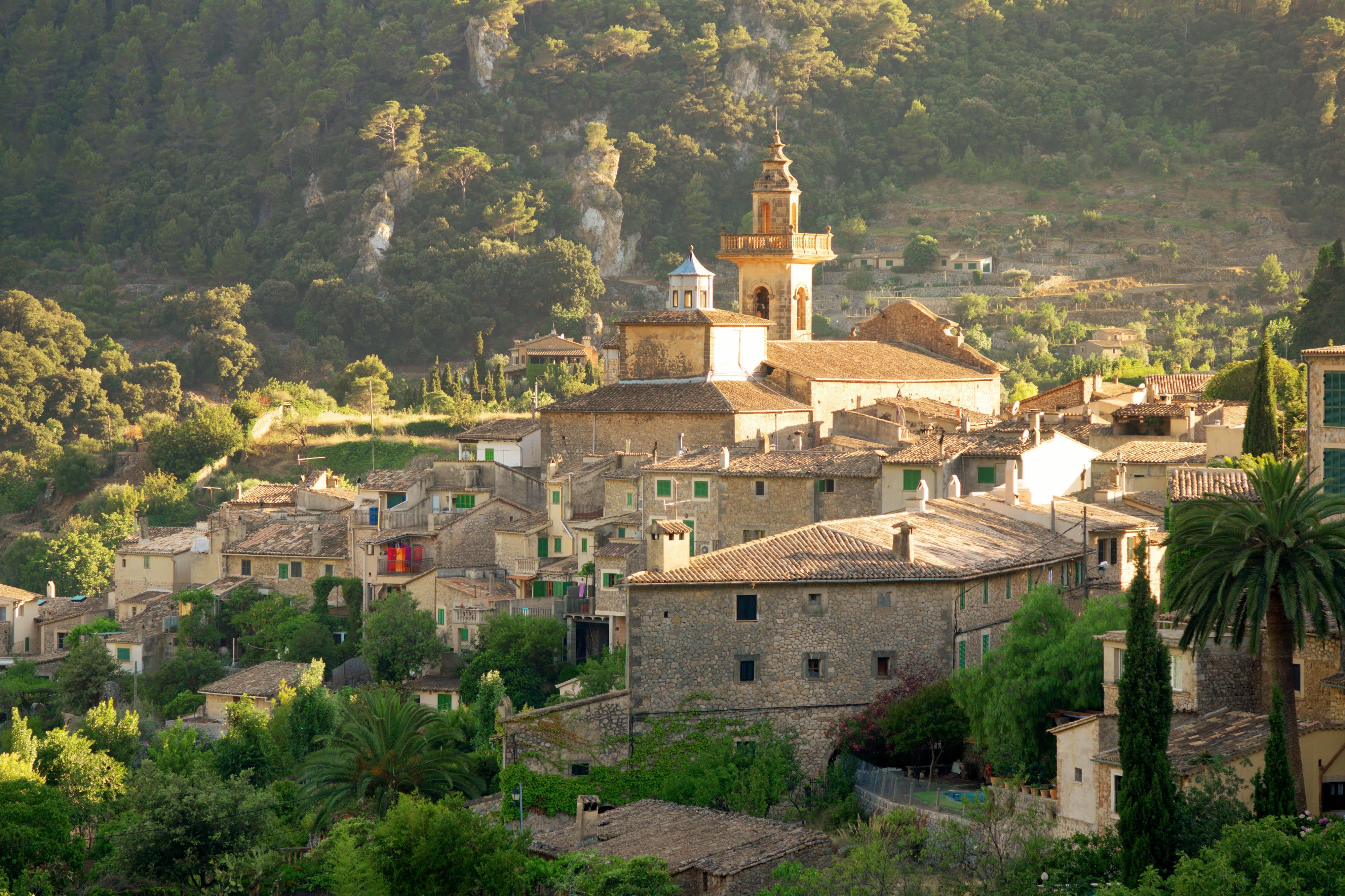 Village In Mallorca