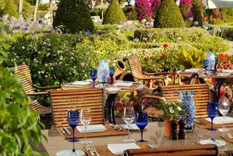 Restaurant Aqua– Terrasse