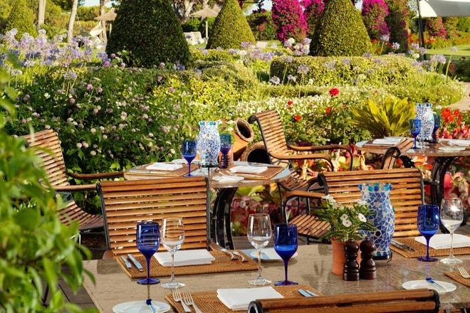 Restaurant Aqua - Terrace