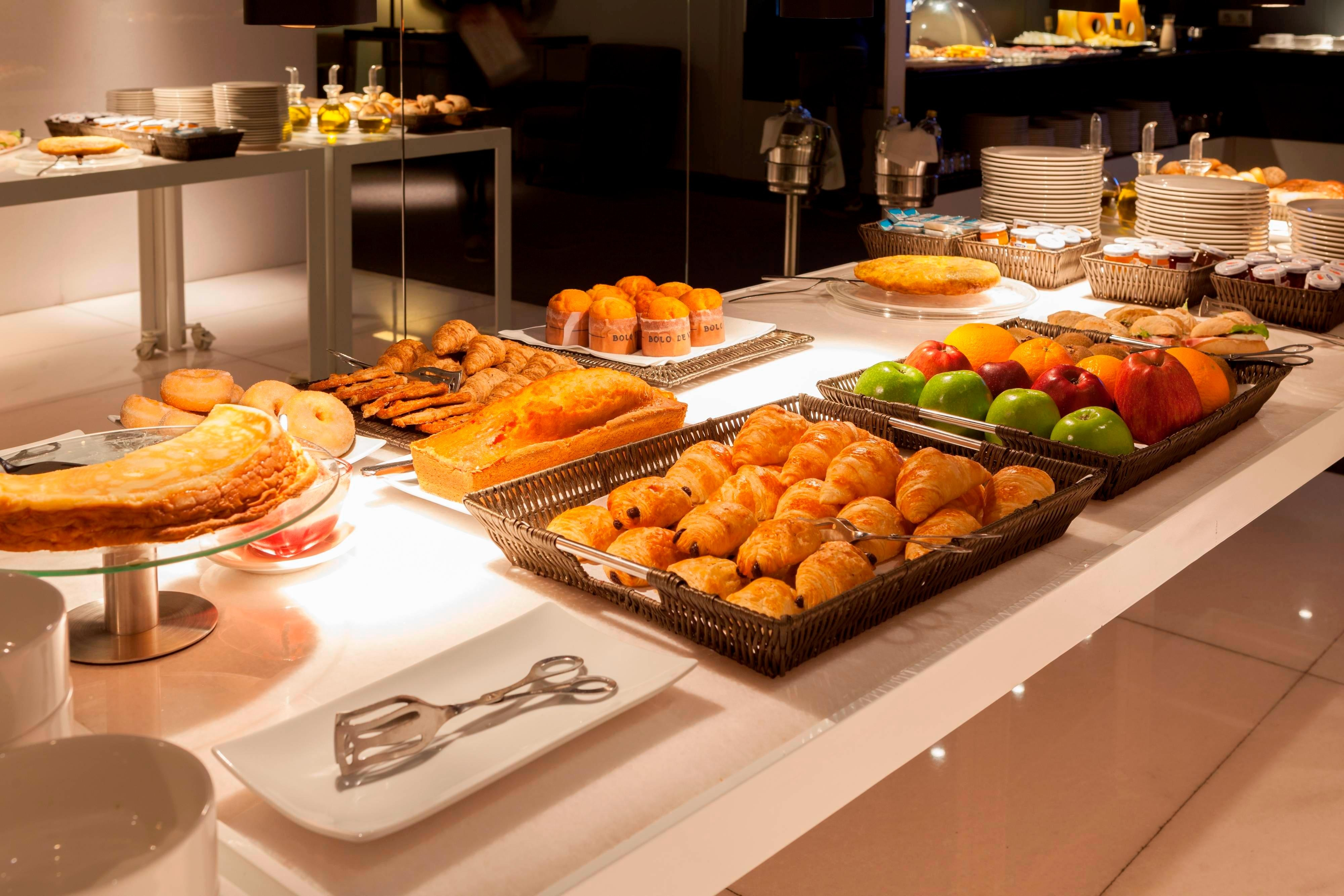 Breakfast buffet in AC Hotel by Marriott