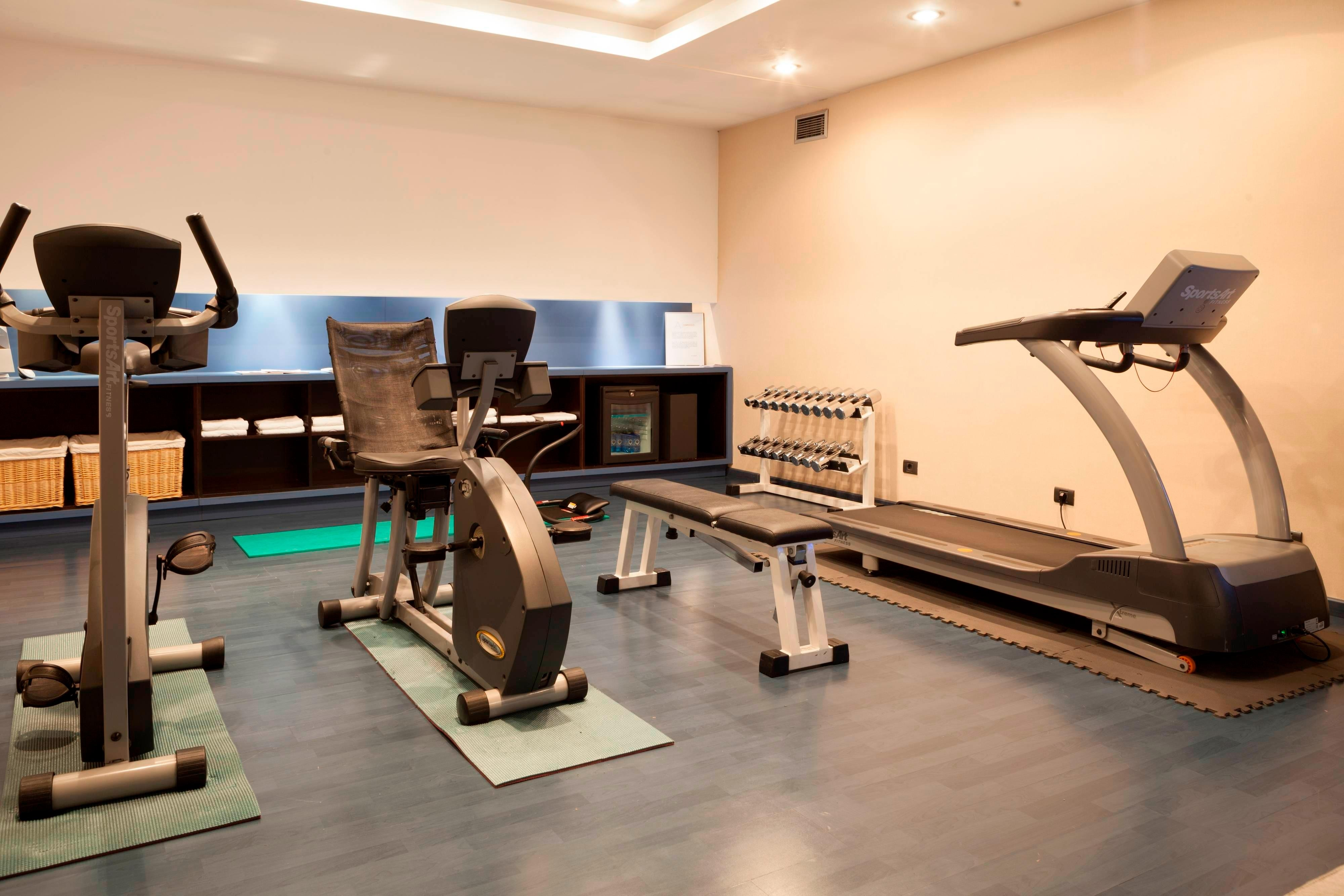 Pamplona hotel fitness center