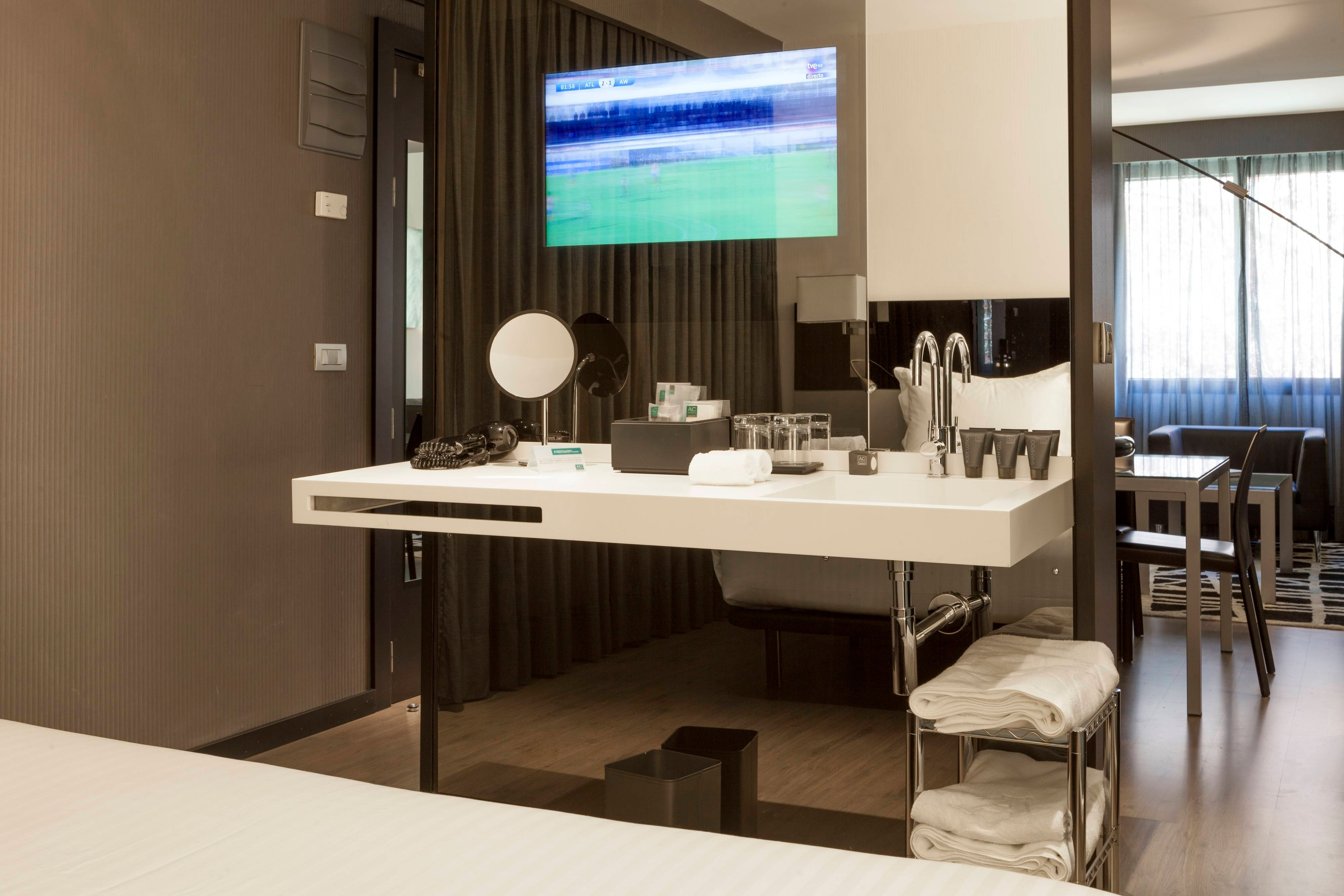 AC in pamplona with superior rooms