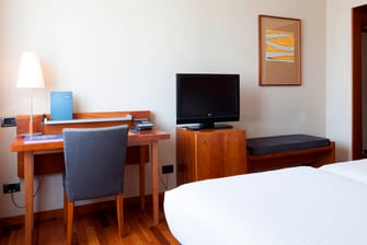 twin rooms in pamplona hotel