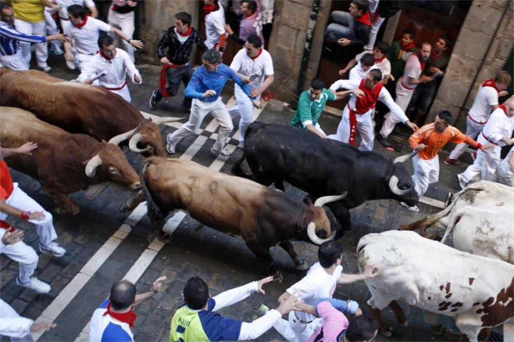 Encierros San Fermín en Pamplona