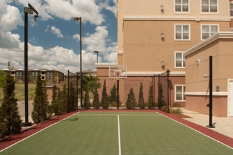 sports court at stillwater hotel