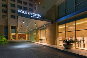 Four Points Exterior signage-