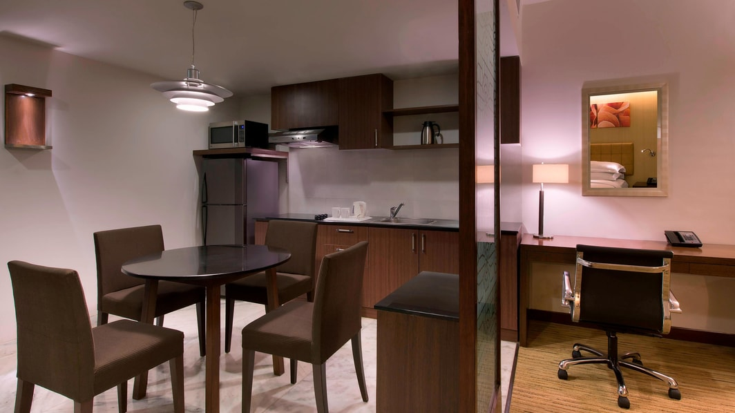 Kitchenette Serviced Apartments
