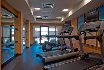 Fitness Center Courtyard Gulf Shores