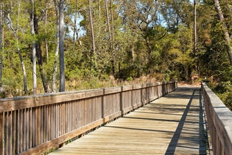 nature trails in Orange Beach Alabama