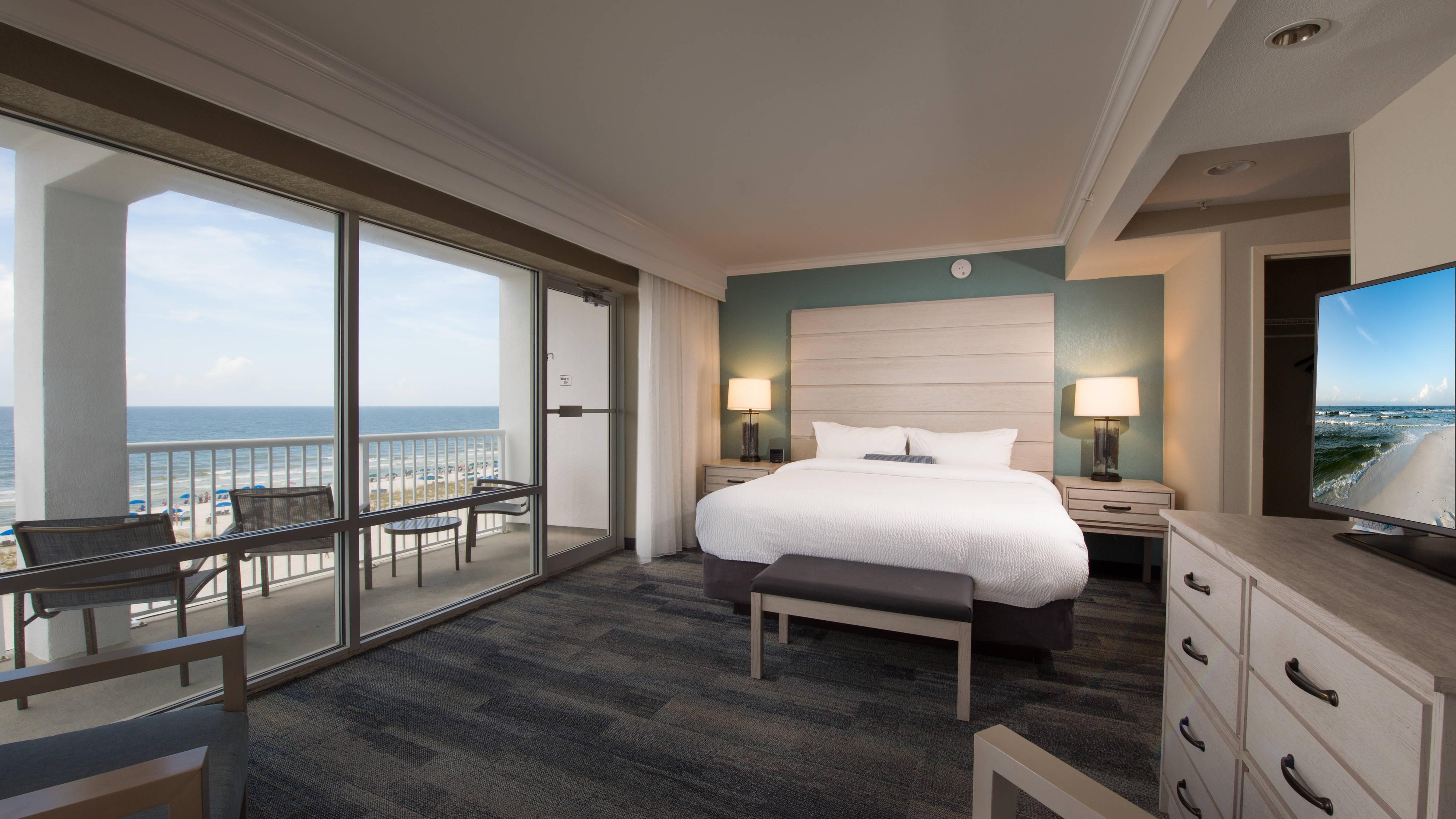 Pensacola beachfront hotel suites