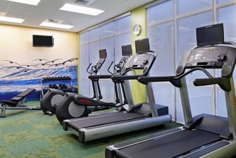 hotel fitness center in pensacola