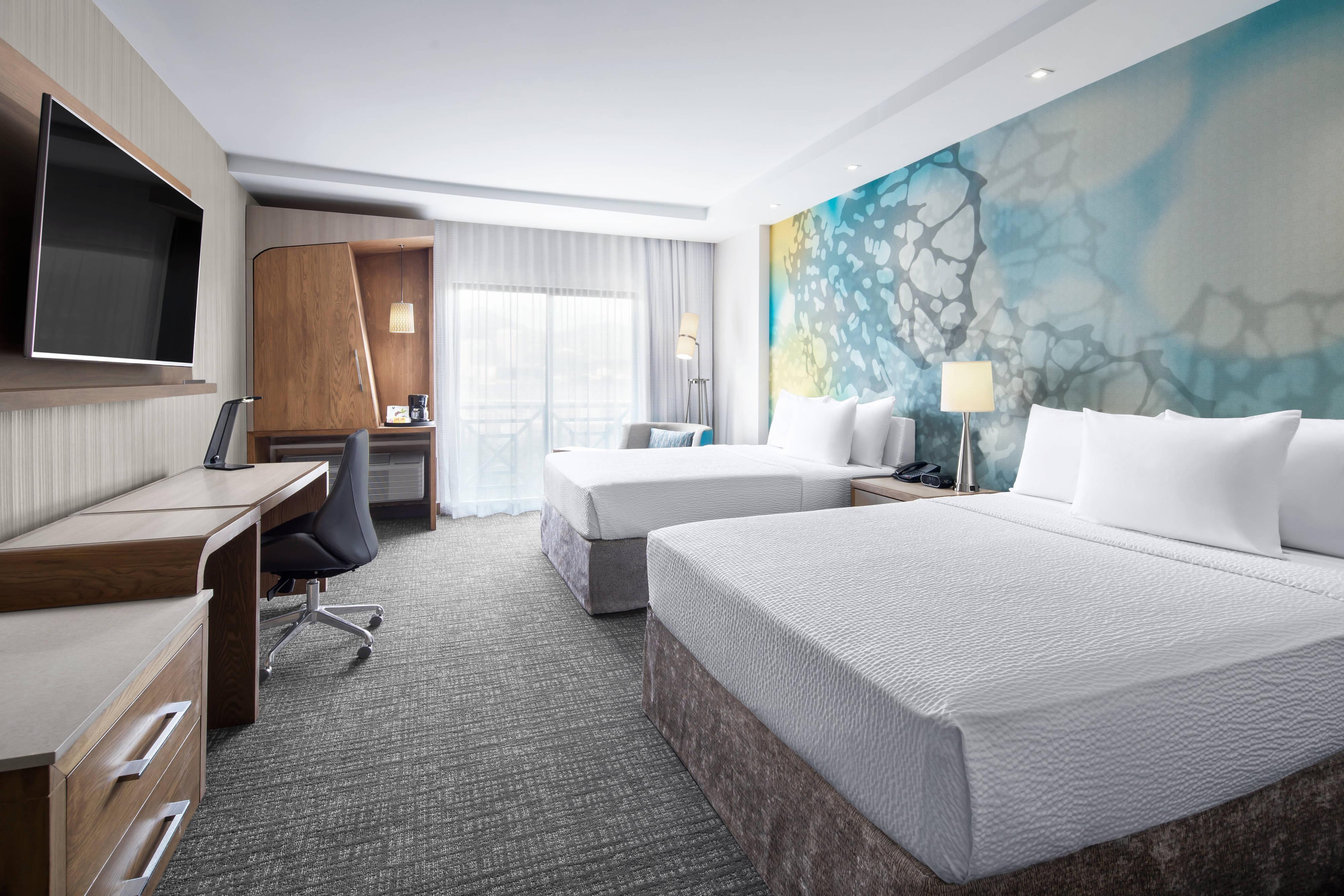 Habitación con dos camas Queen estándar