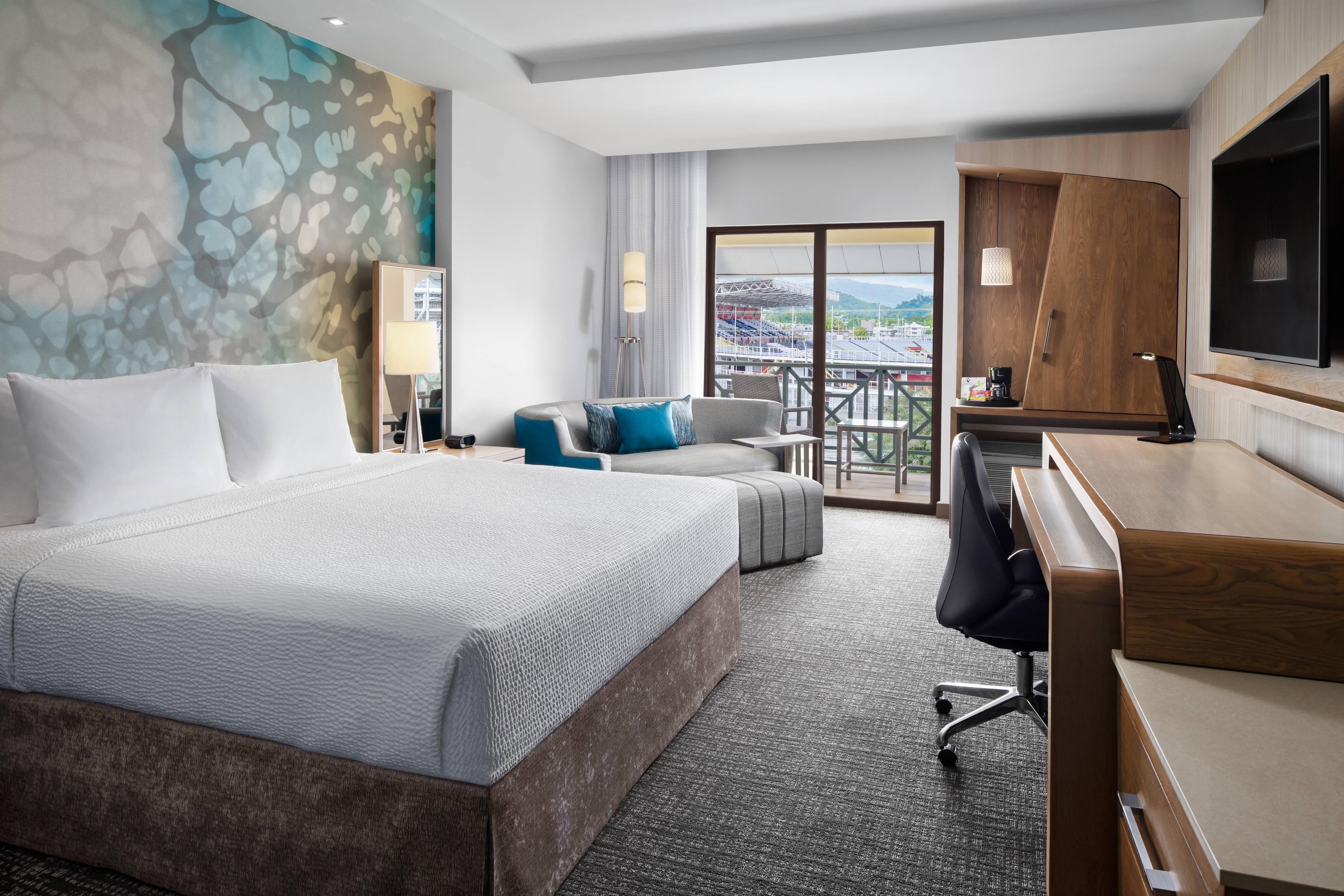 Executive Zimmer mit Kingsize-Bett