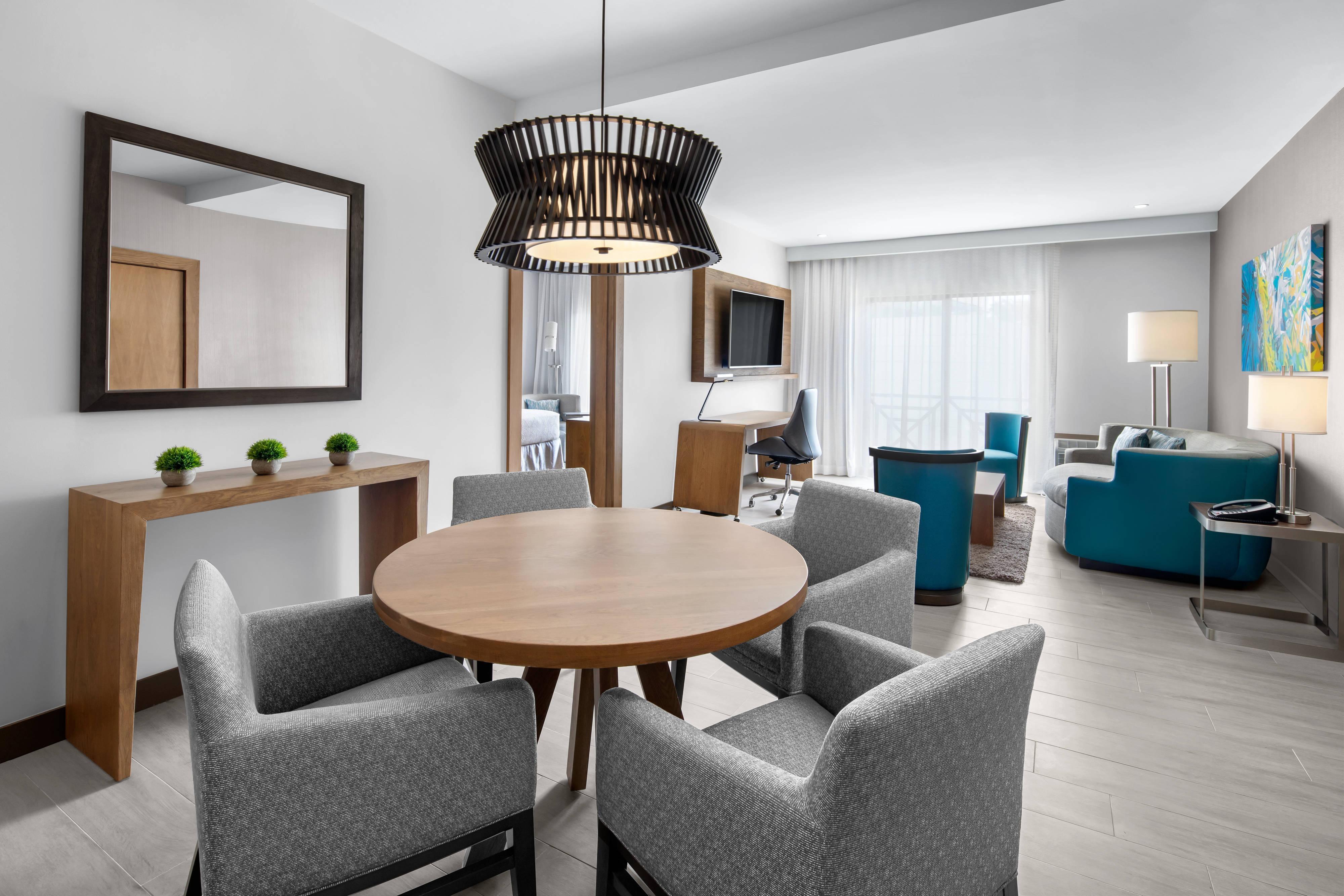 Suite con cama tamaño King - Sala de estar