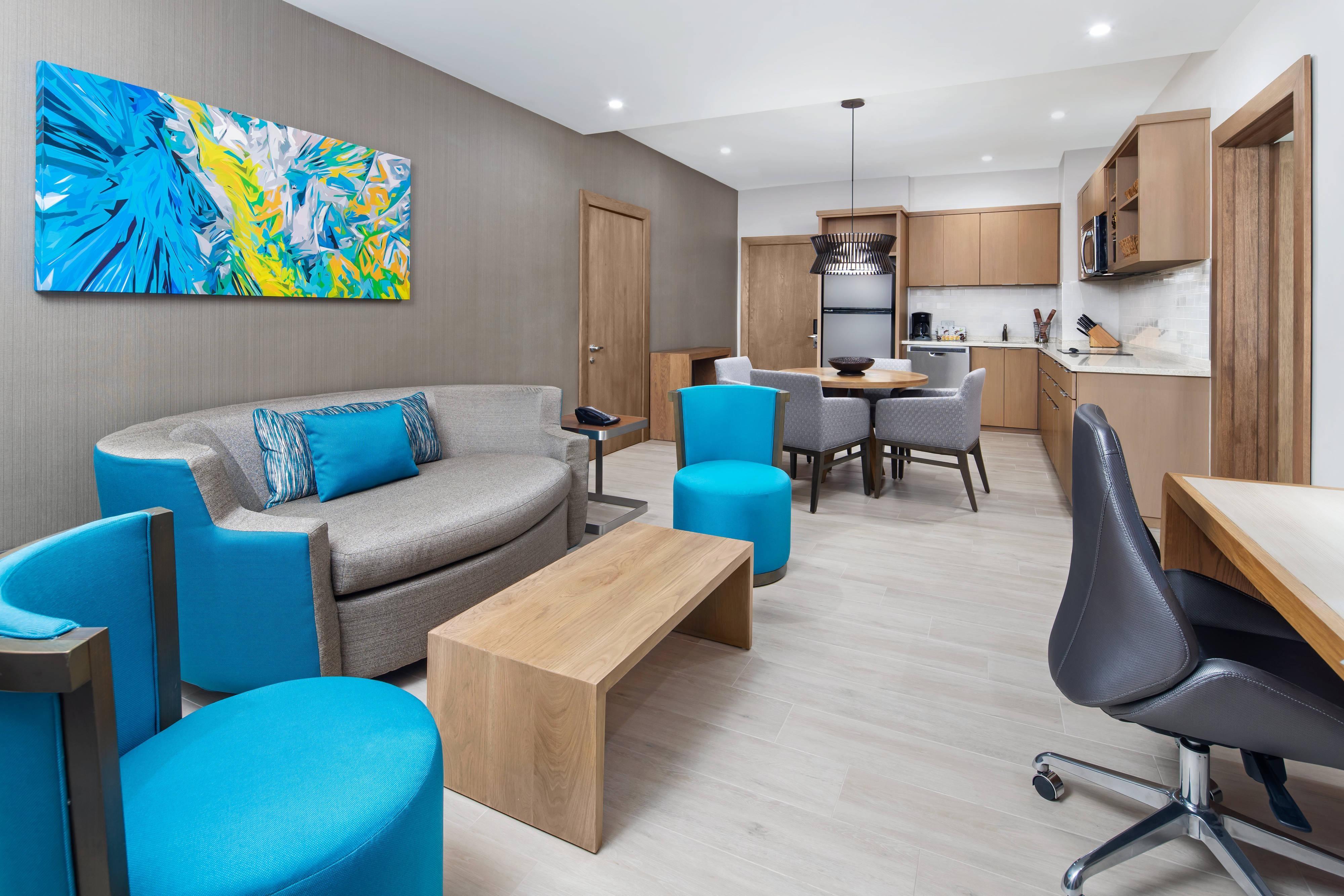 Suite mit einem Schlafzimmer– Wohnzimmer