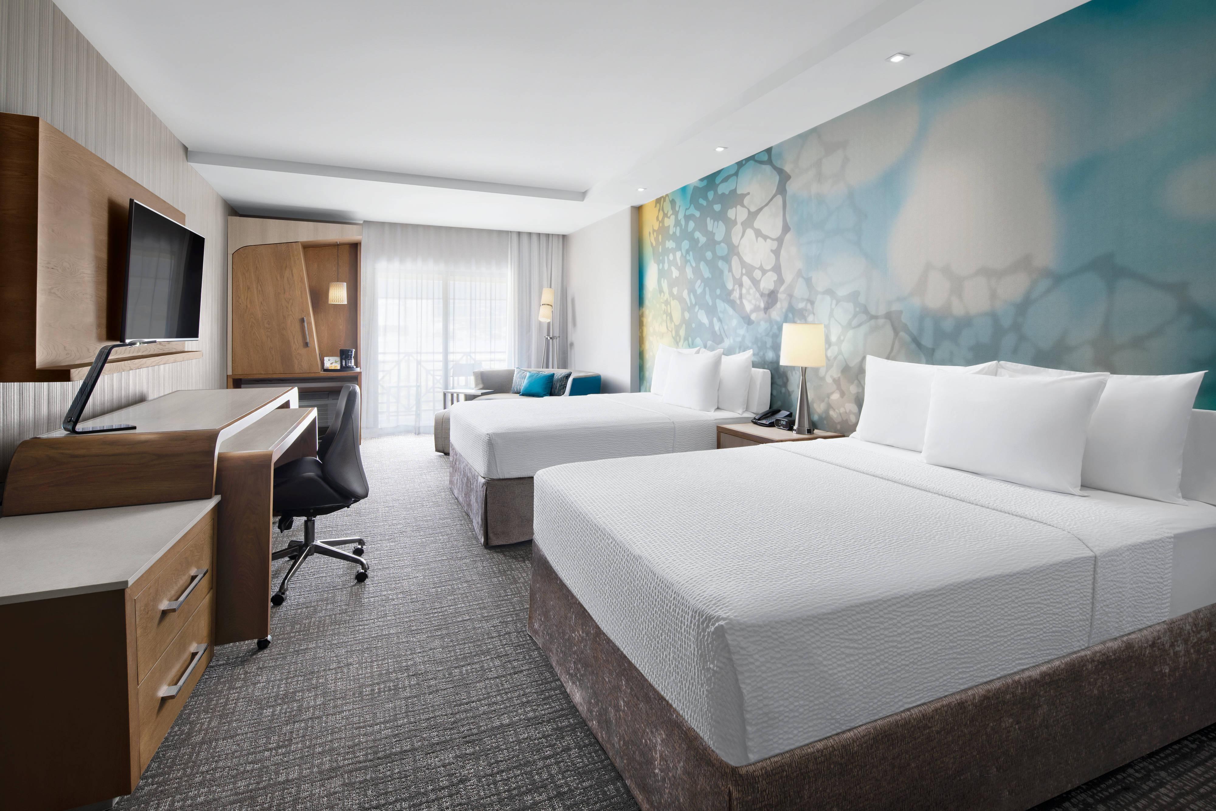 Superior Zimmer mit zwei Queensize-Betten
