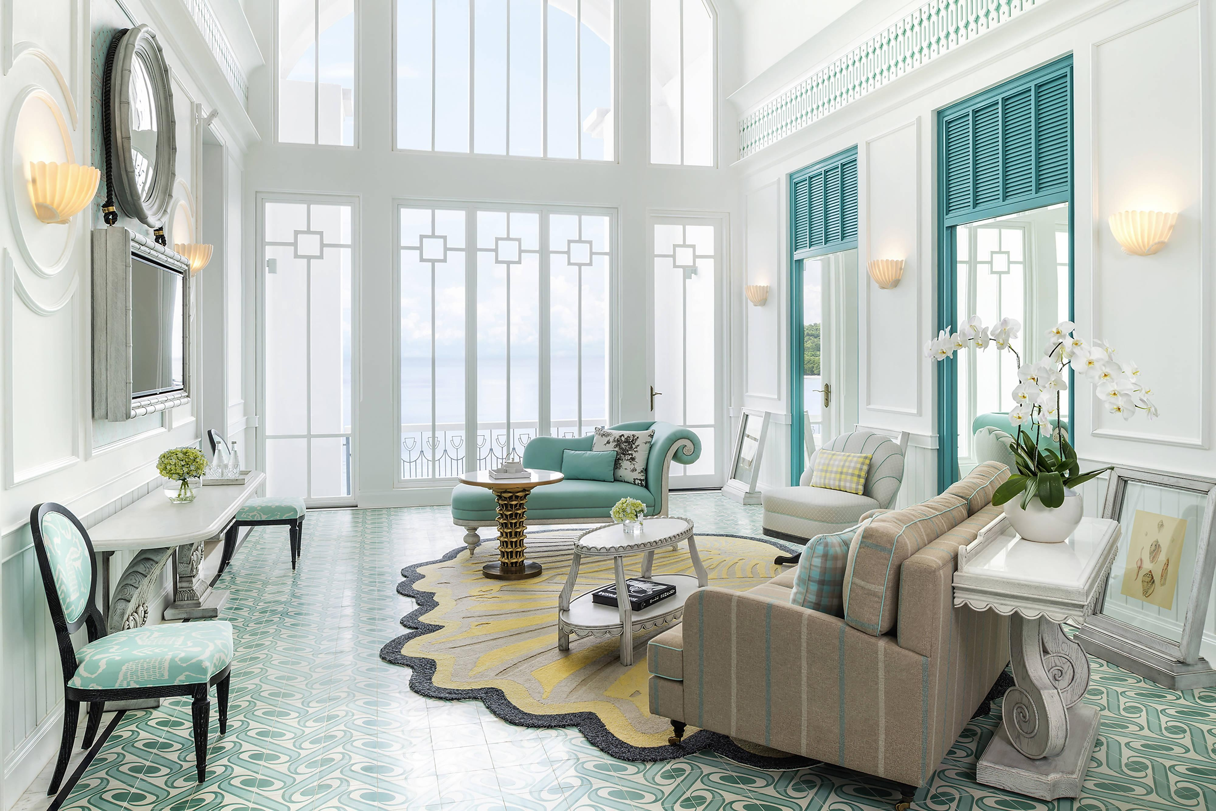 Turquoise Suite – Living Area