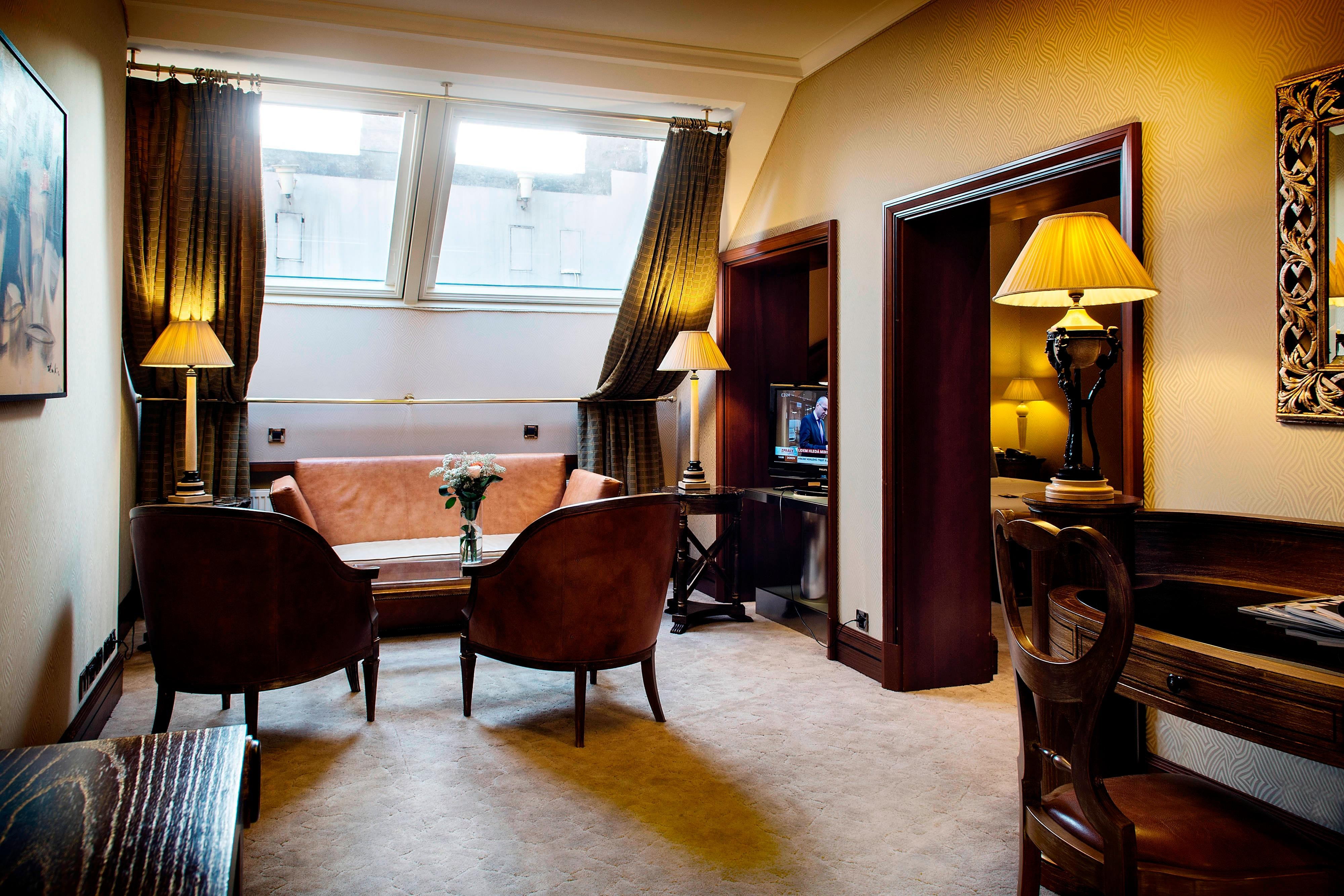 Prague Hotel Boscolo Executive Suite
