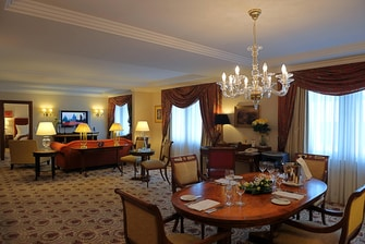 Prague Marriott Luxury Moser Suite