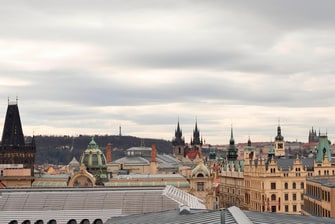 Hotel view Prague Old Town