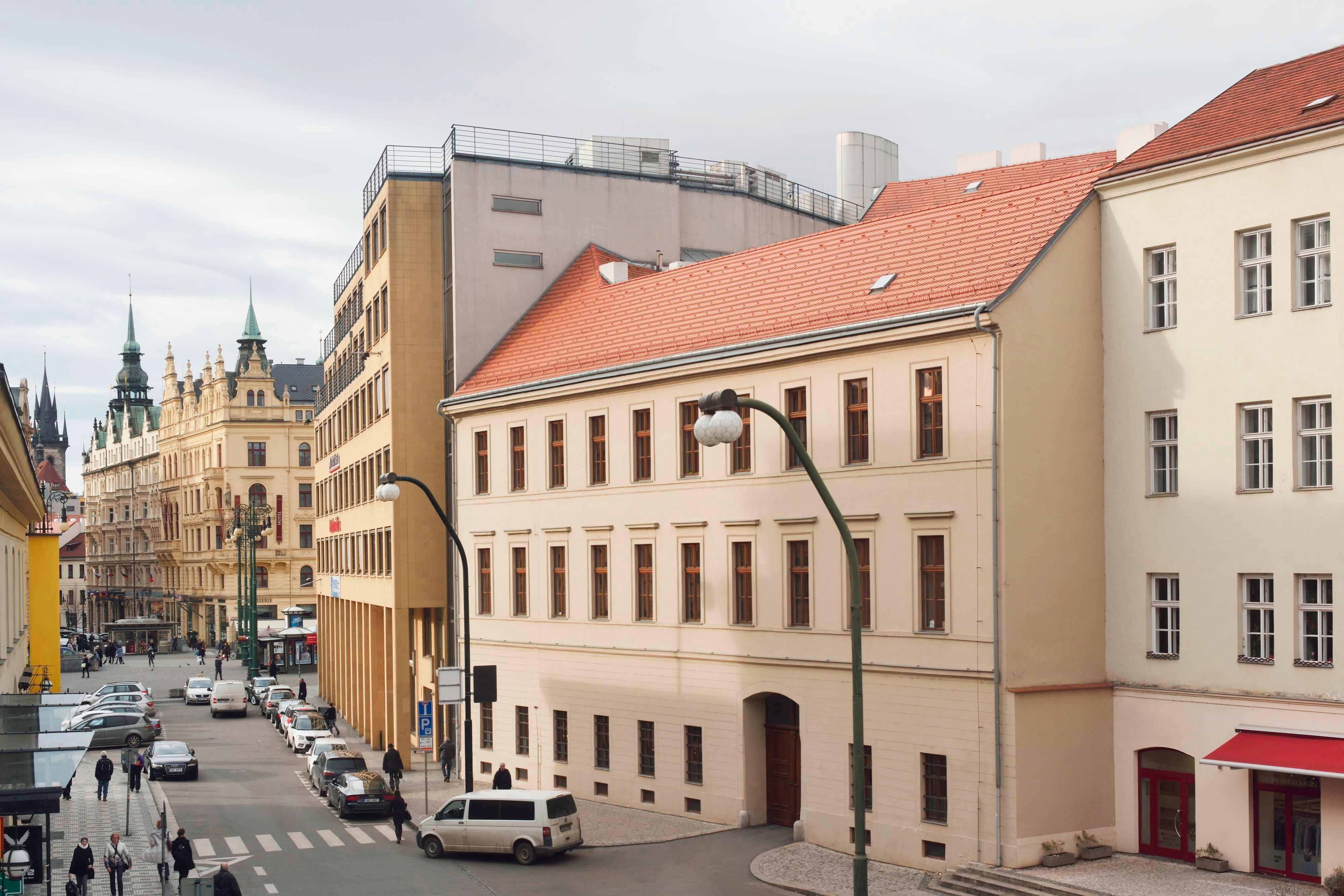 Prague Old Town hotel view
