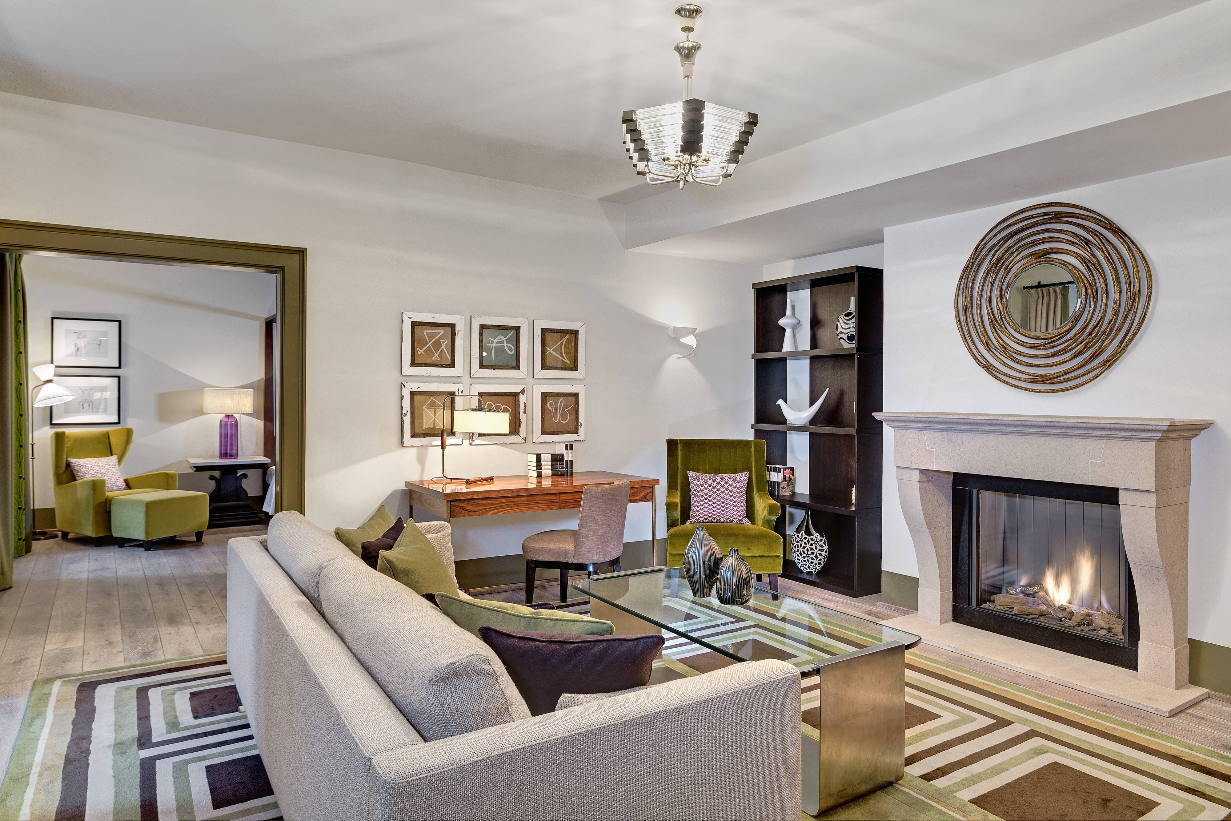 Moser Suite - Living Room