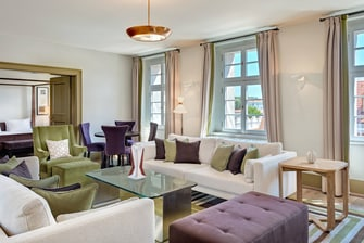Deluxe Suite– Wohnzimmer