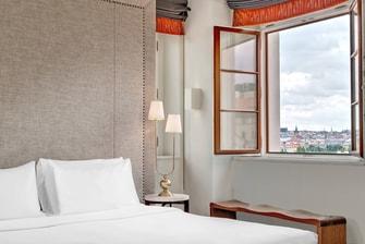 Tower Suite – Schlafzimmer