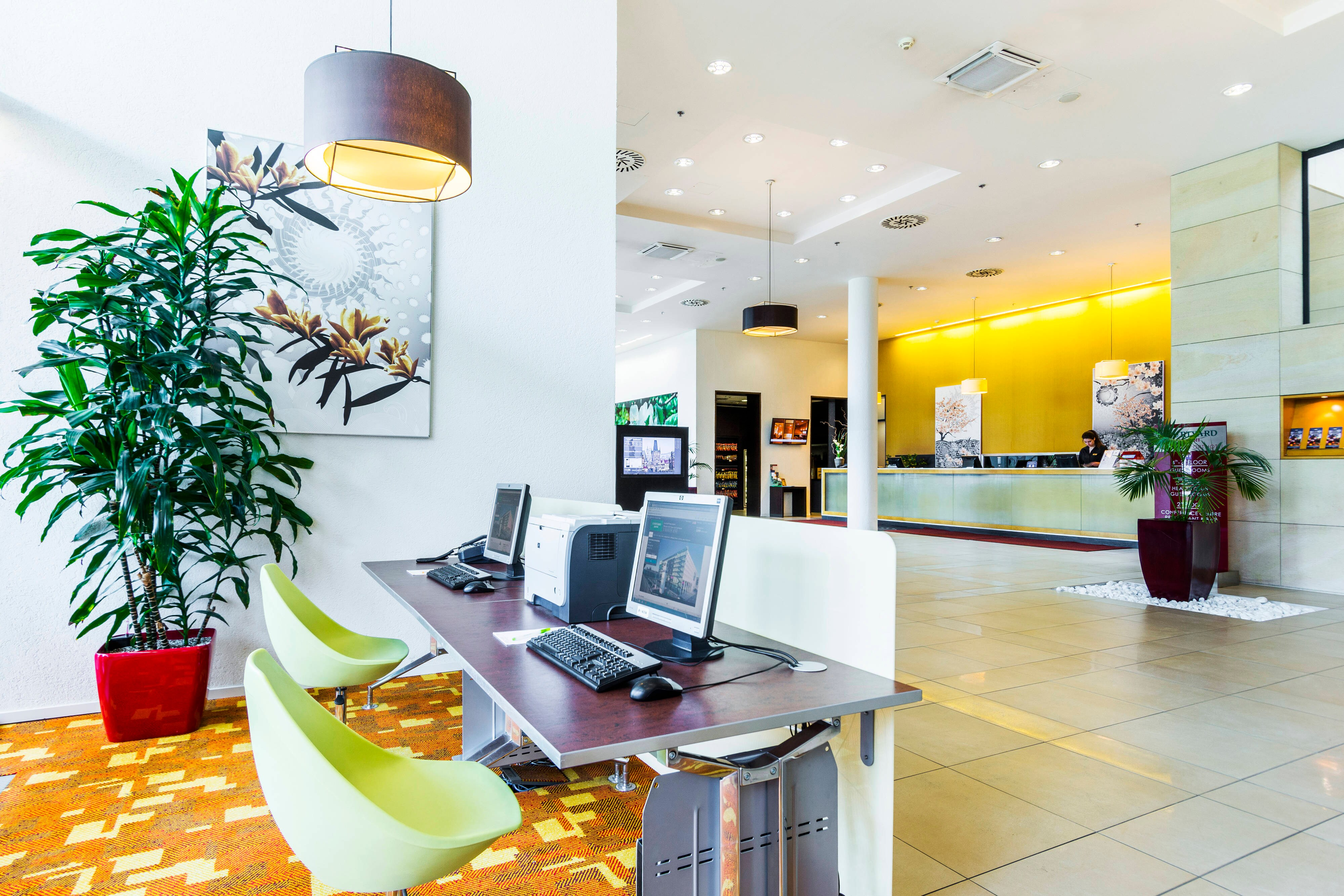 Business Center in Hotel in Prag
