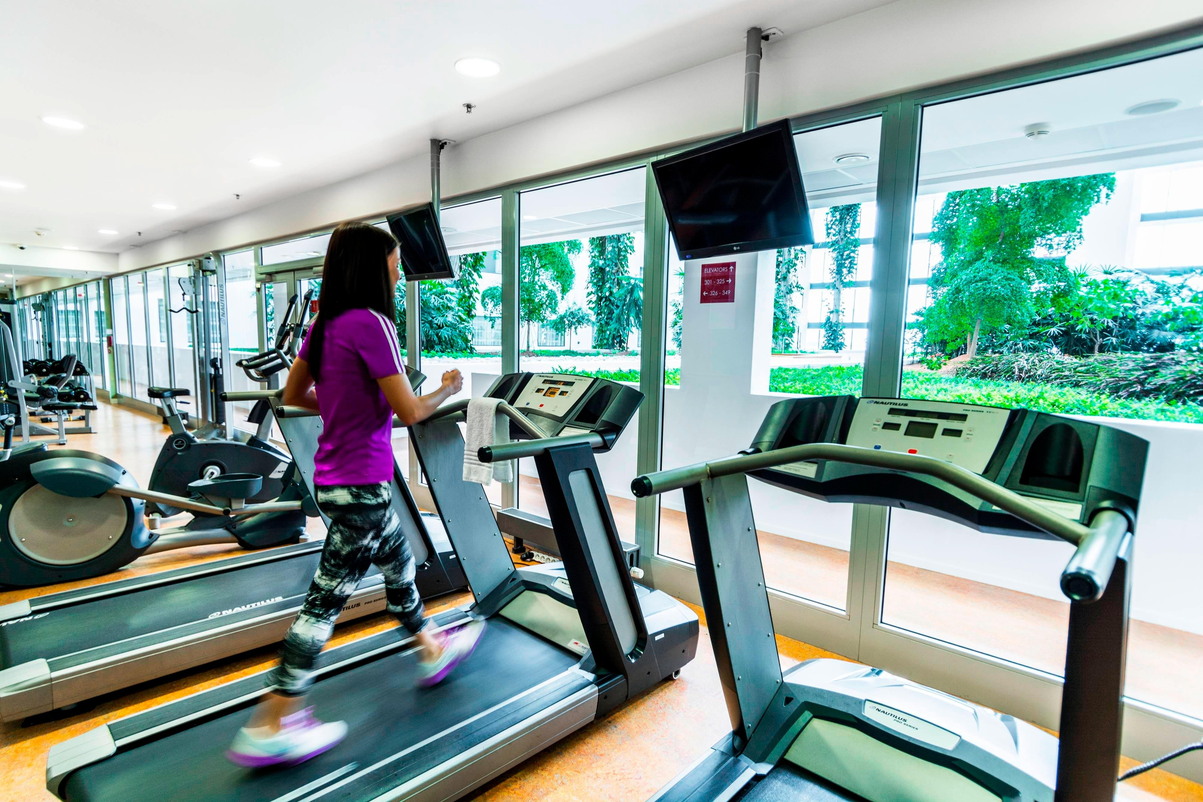 Prague hotel fitness center