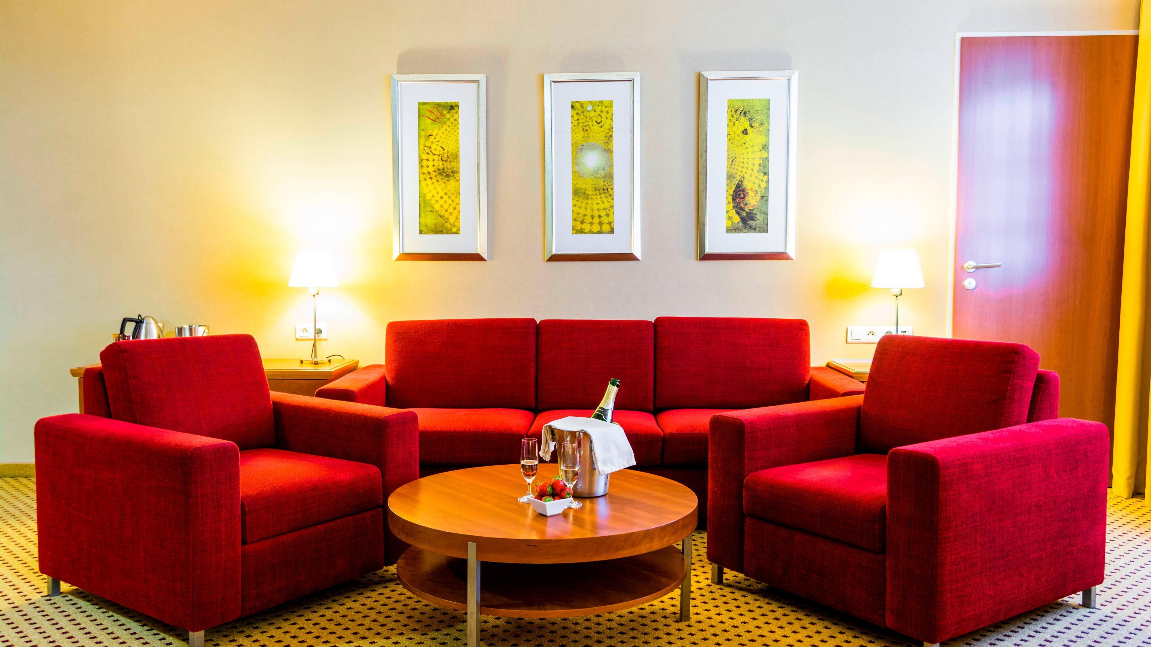 Annehmlichkeiten einer Studio Suite in Hotel in Prag