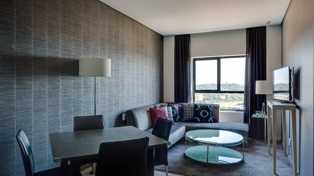 Fire & Ice! Menlyn Suite Living/Dining Areas