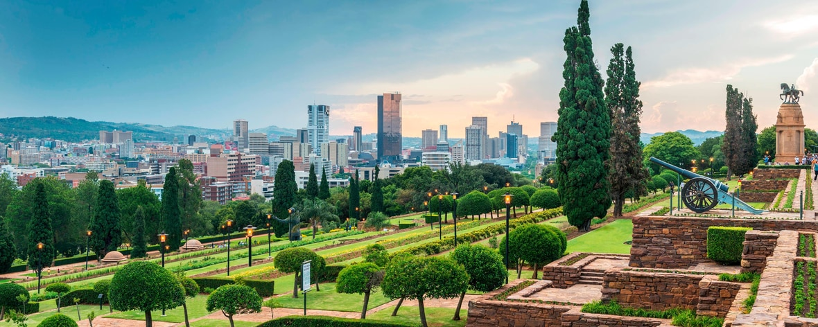 Union Buildings and City