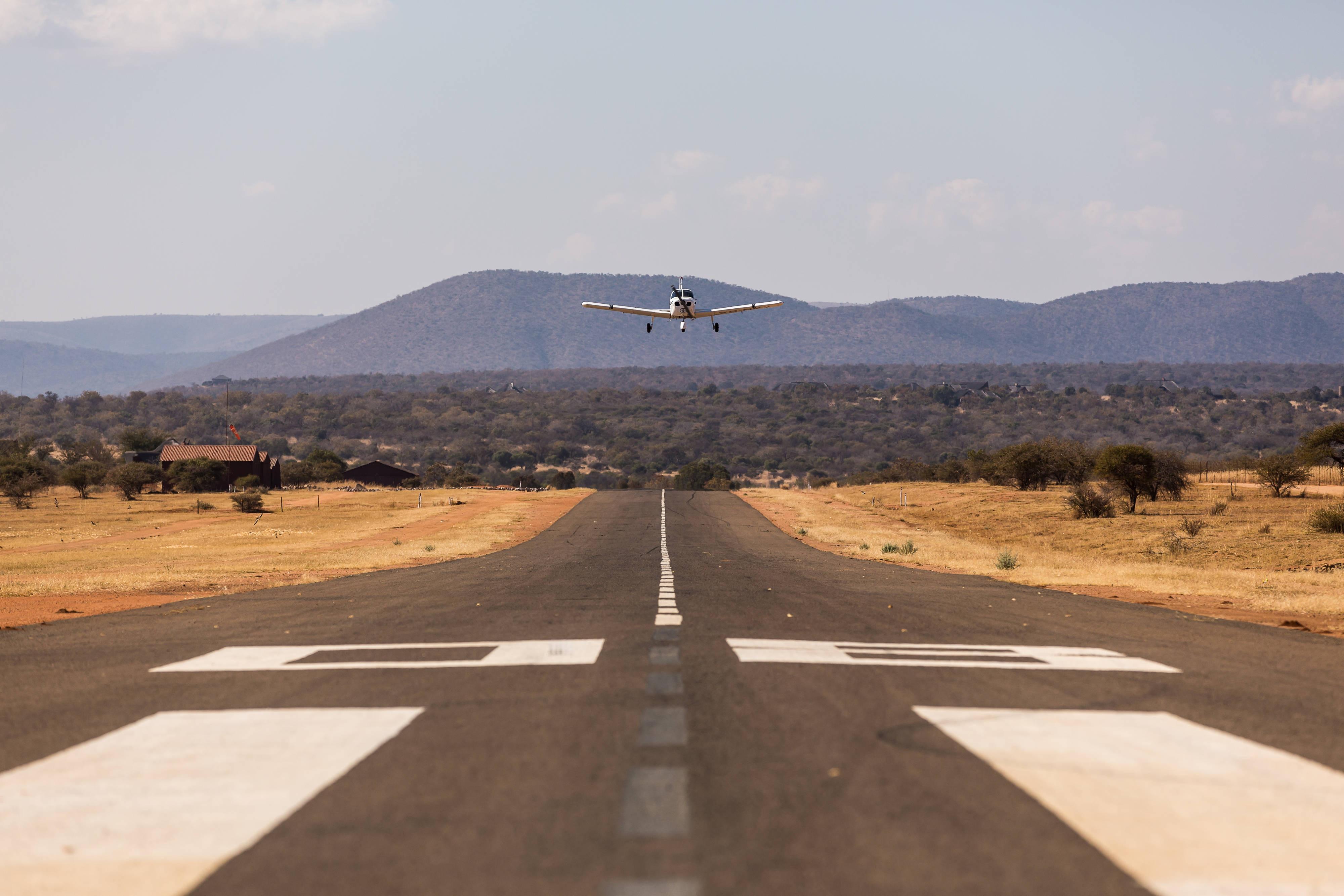 Airstrip Plane Landing