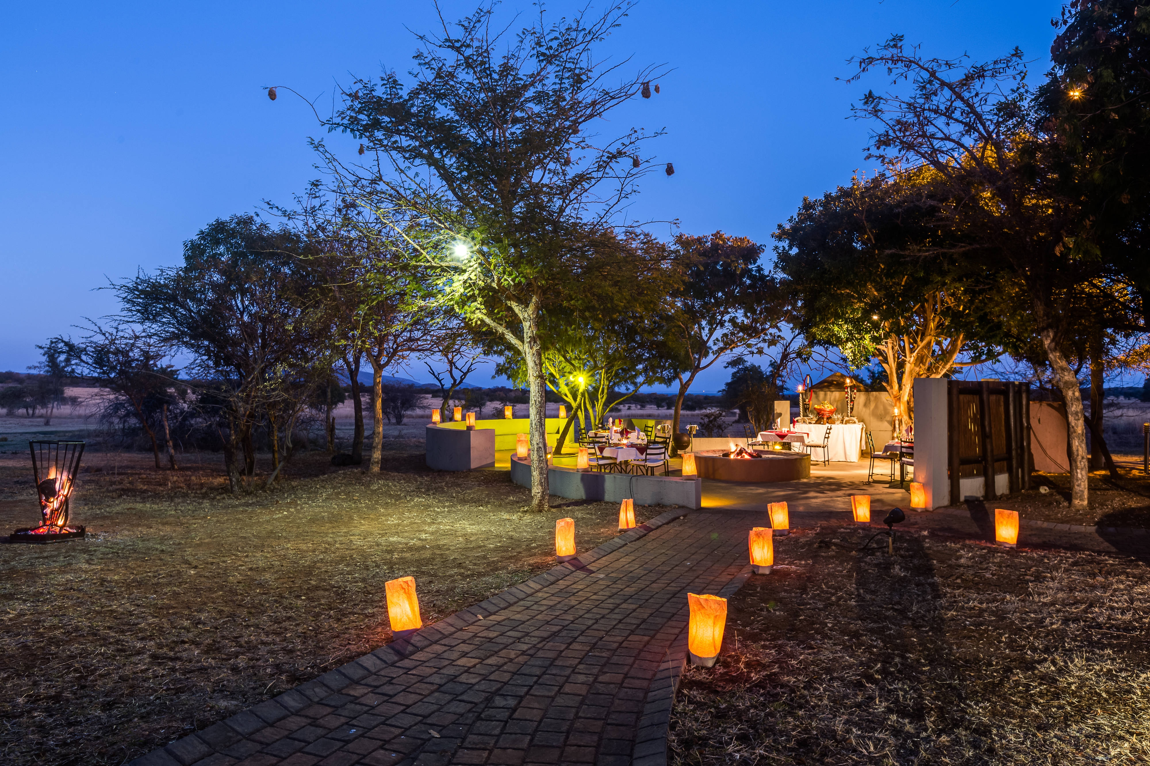 Waterberg Lodge Boma-Evening