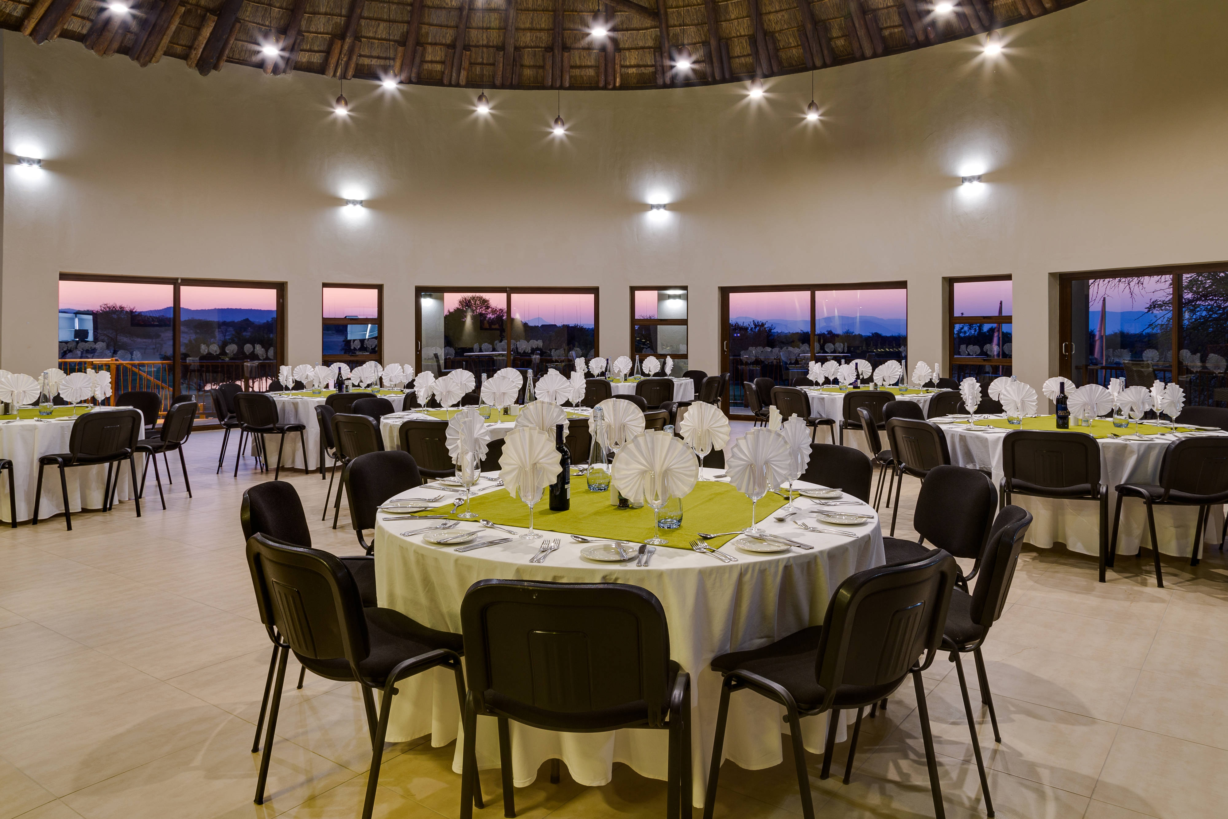 Bush Willow Room Gala Setup