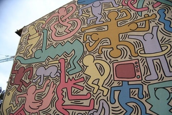 KEITH HARING PISA ITALY