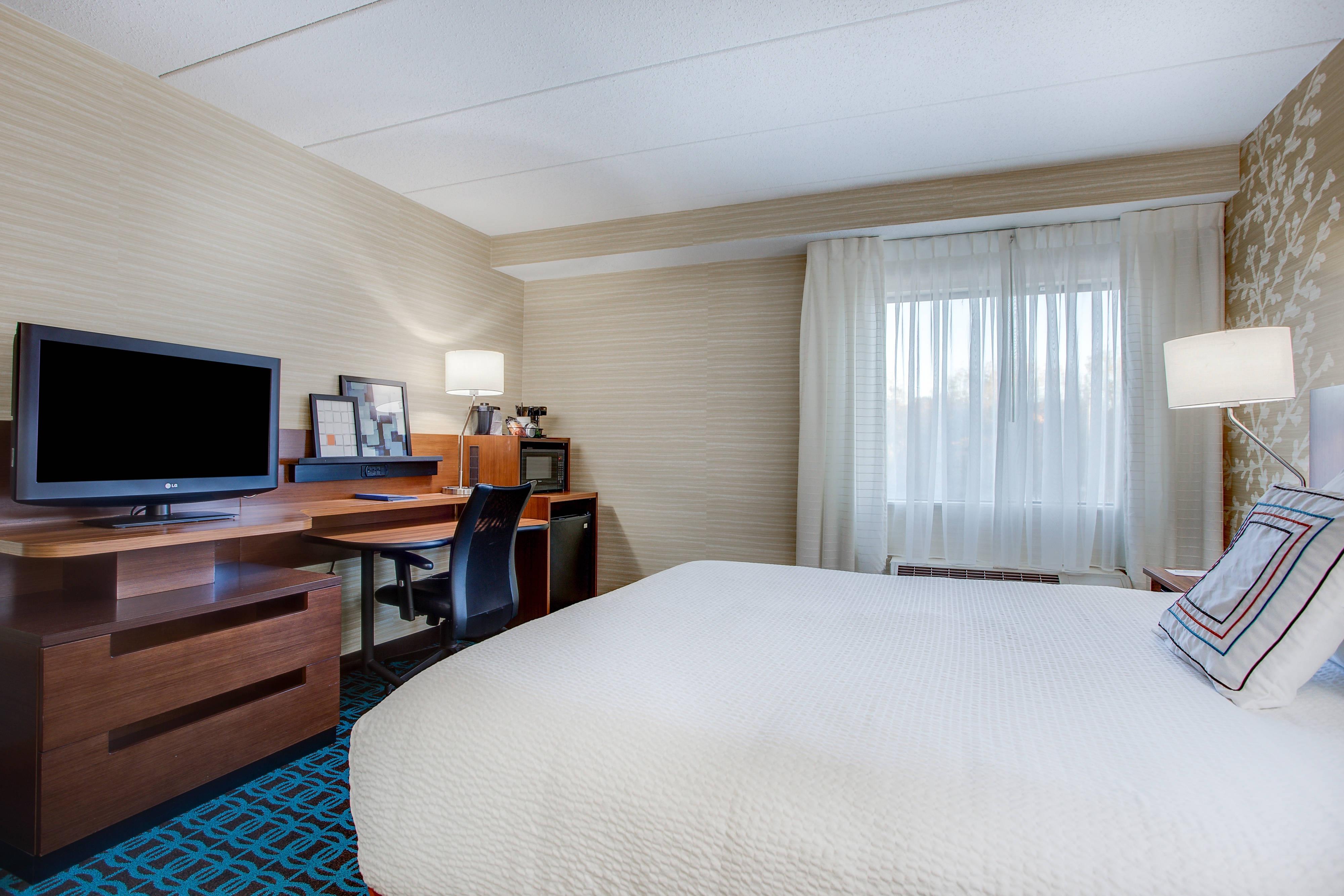 Gästezimmer mit Kingsize- oder Queensize-Bett