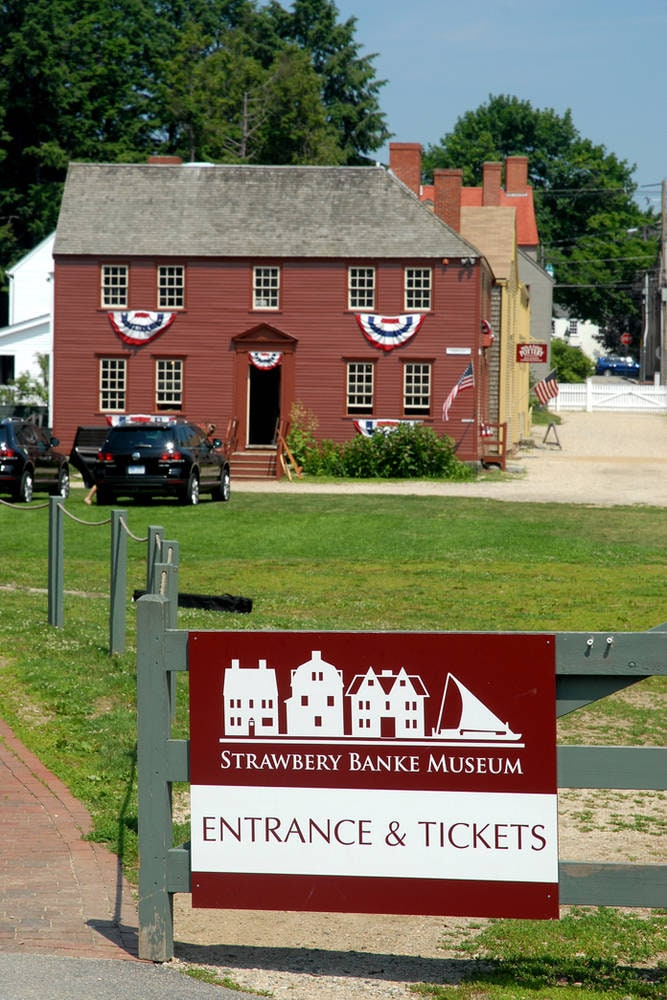 Strawbery Banke Museum Portsmouth NH