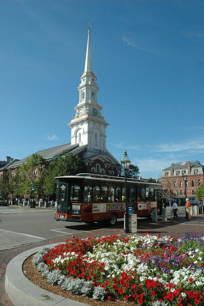Downtown Portsmouth, NH