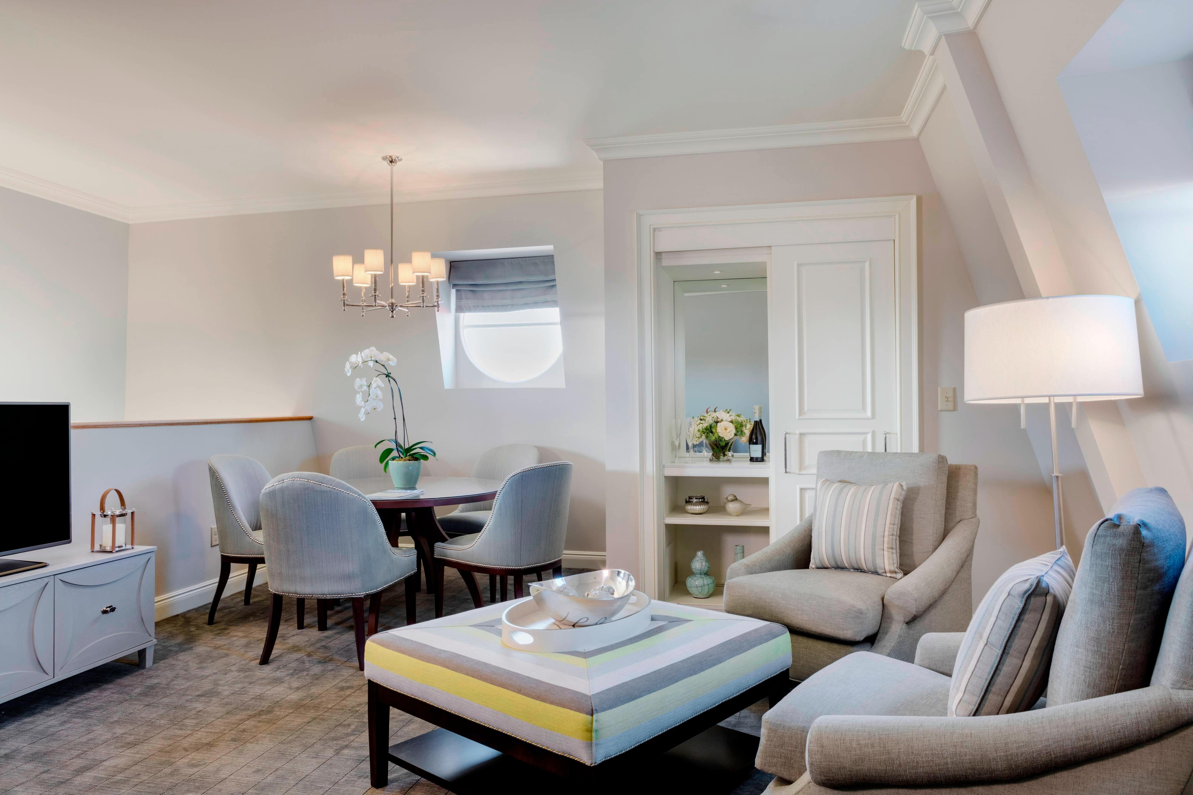 West Turret Suite – Lounge-Bereich