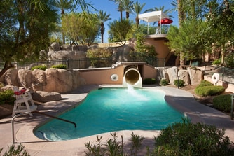 Paradise Pool - Water Slide