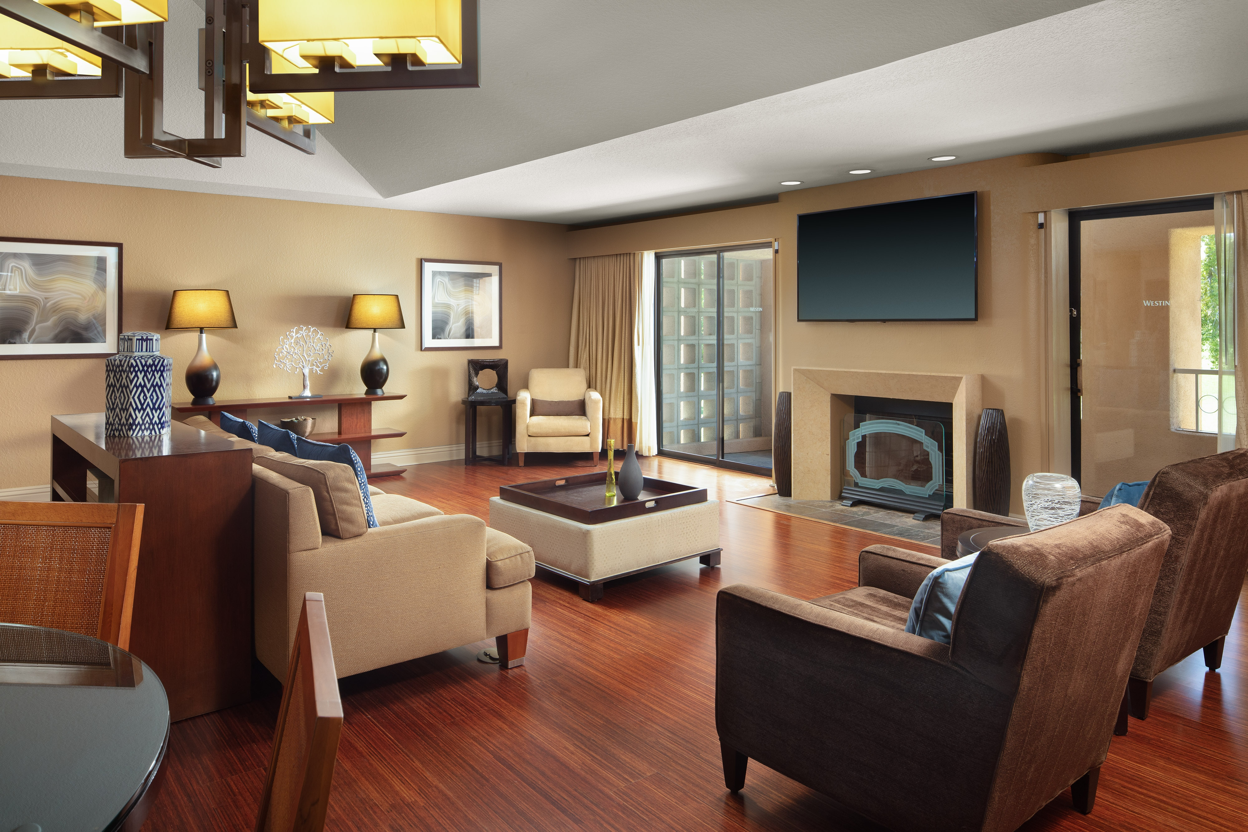 Chairman Suite Living Room