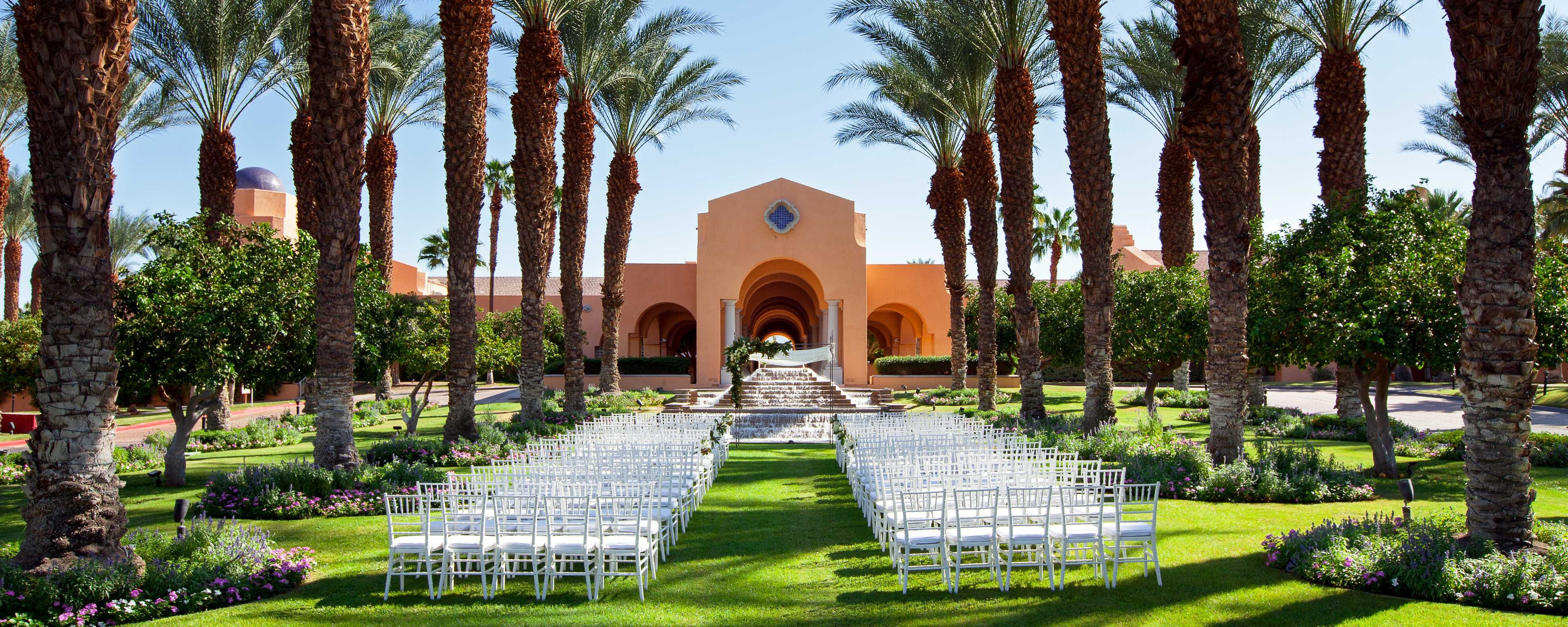 Wedding Venues In Palm Springs The Westin Mission Hills Golf Resort Spa