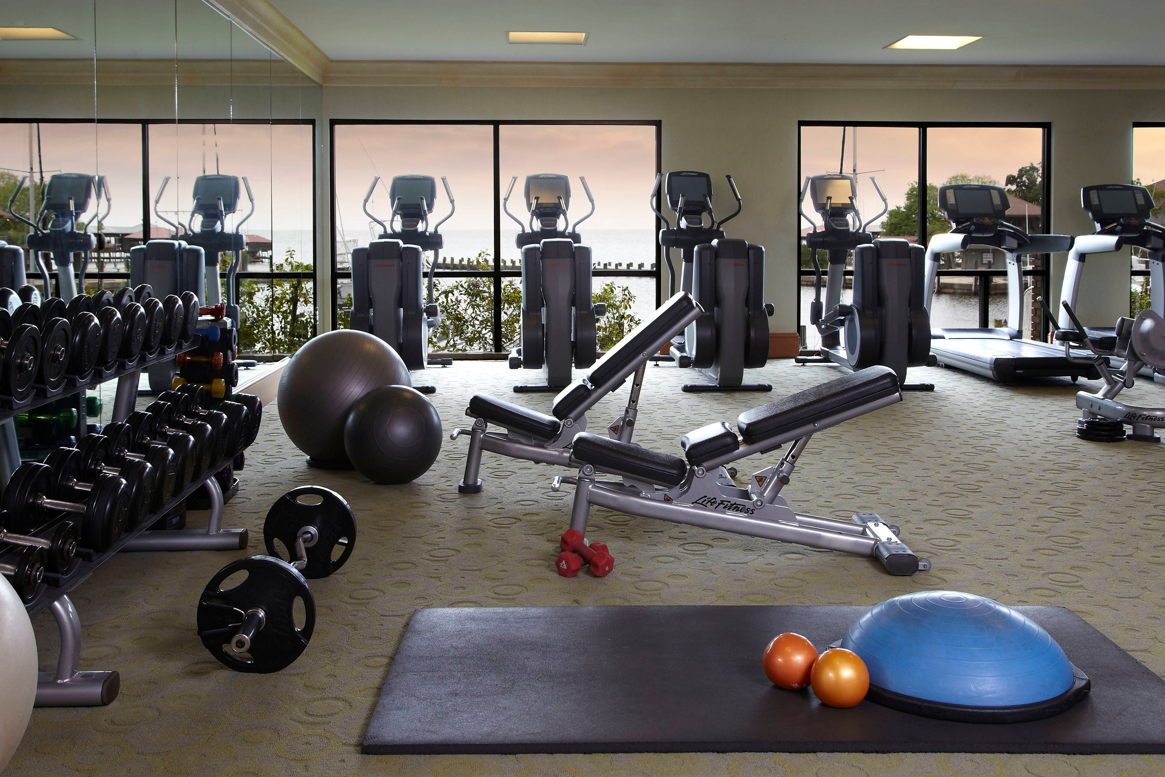 Mobile Bay Hotel Fitness Center