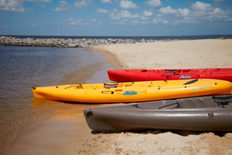 Gulf Coast Beach Hotel Kayaks
